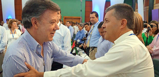 Presidente Santos visitará a Risaralda la semana entrante