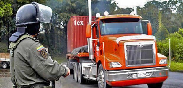 Se implementan controles por paro camionero en el Valle