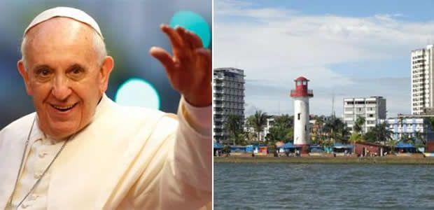 Gobernador Ubeimar Delgado pidió al Papa Francisco visitar a Buenaventura