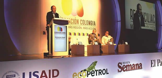 """Gobernador Ortega Narváez, invitado especial en """"primera macro rueda de reconciliación Colombia"""""""