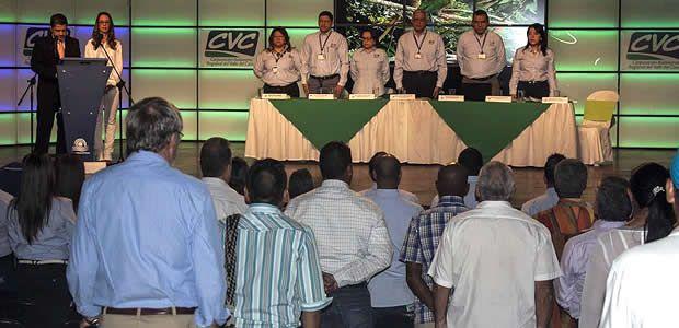 Vallecaucanos le hicieron seguimiento a la gestión de la CVC en el 2014