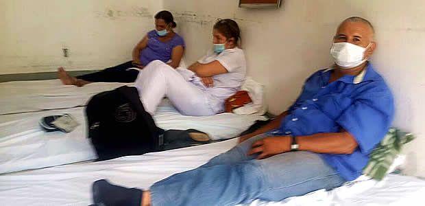Empleados del Hospital Departamental de Cartago iniciaron huelga de hambre