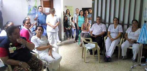 En el Hospital Departamental de Cartago convocan a un cacerolazo