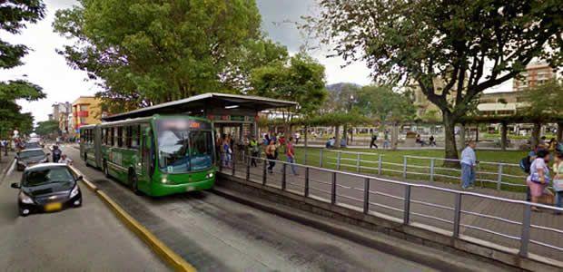 Cierre temporal de la estación de Megabús El Lago
