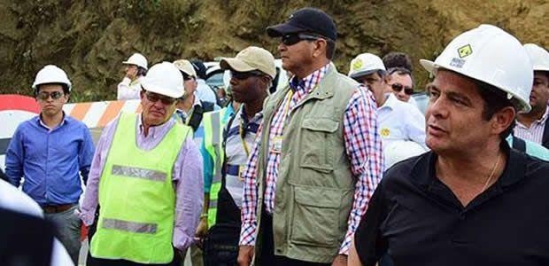 Vicepresidente Vargas Lleras supervisó avances de obra en la vía a Buenaventura