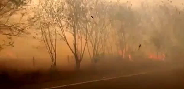 Se reactiva incendio en Yumbo, Valle
