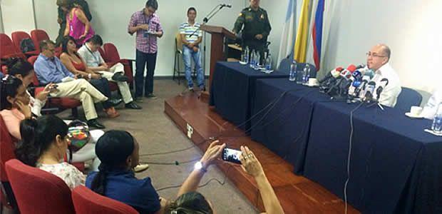 """""""A partir de este momento declaro al departamento del Valle en calamidad pública"""": Ubeimar Delgado"""