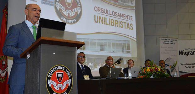 Apertura al primer seminario internacional de migraciones y delitos trasnacionales