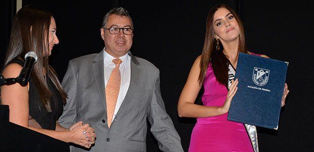 Alcaldía de Pereira declaró como huésped de honor a la Miss Universo Paulina Vega Dieppa