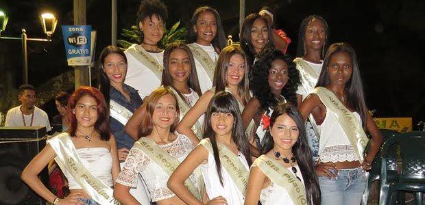 Presentan aspirantes a Reinado Feria de Las Colonias Cali 2015