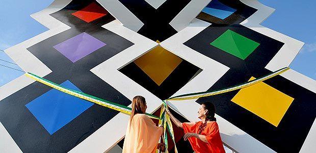 """""""Corteza del arco iris"""" del maestro Rayo embellece la avenida Centenario"""