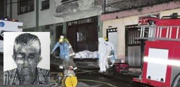 Taxista que laboraba en Cartago murió calcinado en incendio