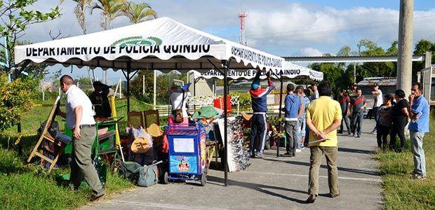 Con éxito se cumplió subasta pública en la Plaza de mercado minorista de Armenia