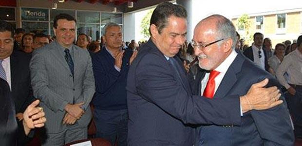 Vicepresidente Vargas Lleras acompañó posesión del Gobernador de Caldas