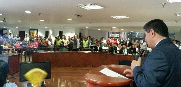 Gobernador del Quindío instaló primer periodo de sesiones de la Asamblea