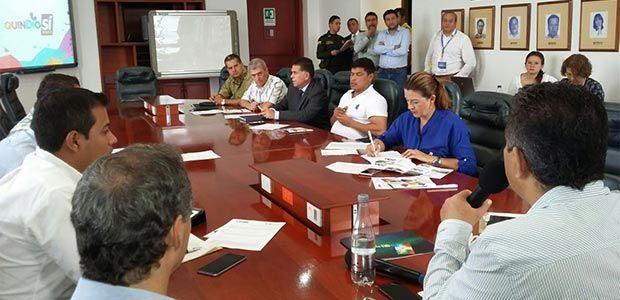 Alcaldes del Quindío eligen sus representantes en el Ocad