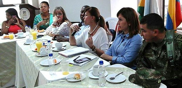 Proyectos presentados en Buenaventura en el Comité Intergremial a la Gobernadora del Valle
