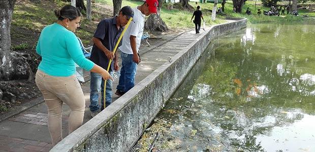 Repentina muerte de peces en el lago Chillicote de Tuluá
