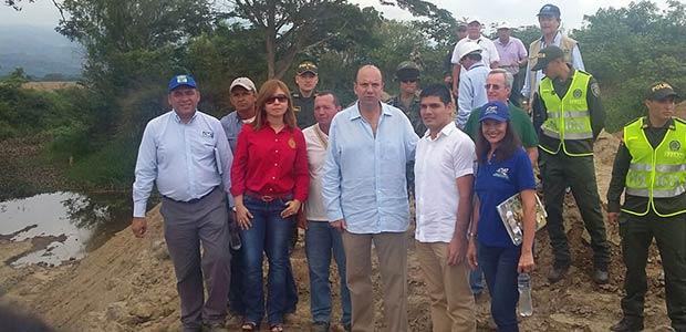 Minambiente y Gobernación del Valle recorrieron obras de recuperación de la laguna Sonso
