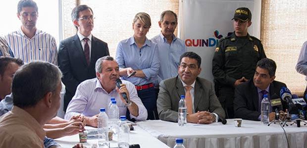 Gobernador del Quindío y Alcaldes dan un no rotundo a la megaminería