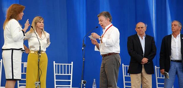 Juan Manuel Santos invita a promover la paz en el Valle del Cauca