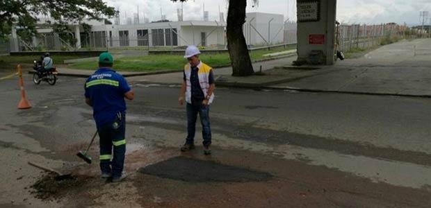 Avanza etapa precontractual para ejecutar obras de mantenimiento de malla vial en Cartago