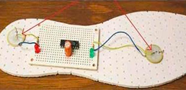 Diseñan prototipo de zapato para generar energía limpia