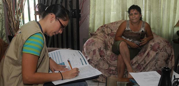 Encuesta integrada de hogares adelanta el Dane en Cartago