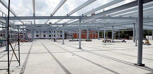En un 78% avanza la construcción del centro comercial Armenia