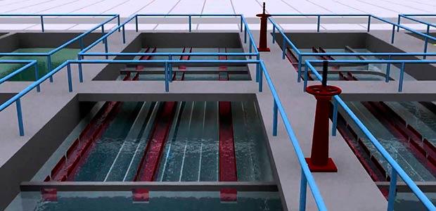 Con sistema hidrolavado se intervienen filtros de planta N° dos en acueducto de Cartago