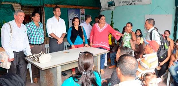 Gobierno del Quindío asistió en el Congreso departamental de ANUC