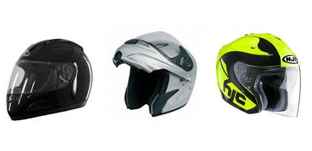 Motociclistas de Cartago deben usar cualquiera de los 3 tipos de cascos reglamentarios