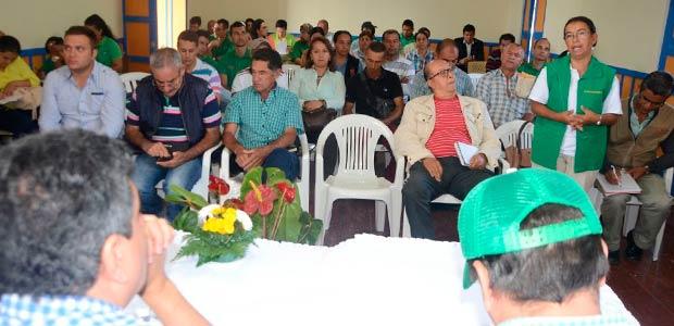 Se anunció destinación de recursos para el sector agropecuario en Filandia Quindío