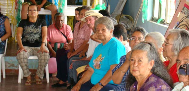 Jornada de integración de los grupos de adultos mayores de Cartago