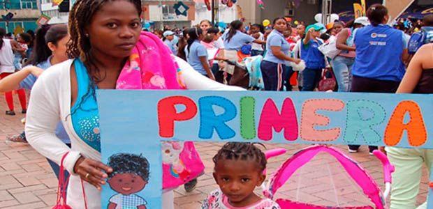 Niños entre 0 y 6 años favorecidos con la terminación del conflicto