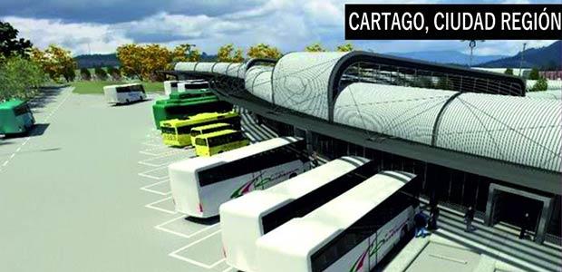 Terminal de transporte terrestre de Cartago sería construido en lote del Club campestre