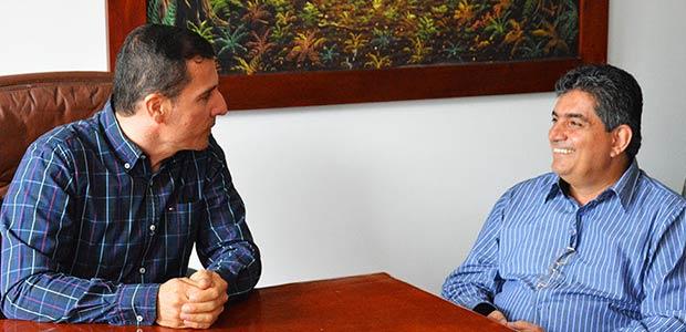 Gobernador del Quindío visitó Circasia para repasar proyectos locales