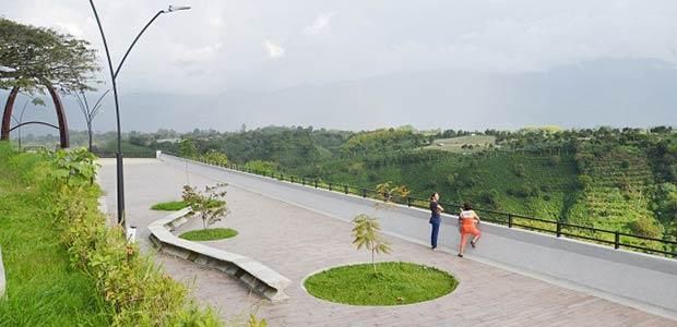 Avanza la construcción del Malecón de La Secreta de Armenia