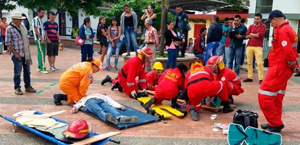 Risaralda superó expectativas en 5° simulacro nacional de atención a emergencias