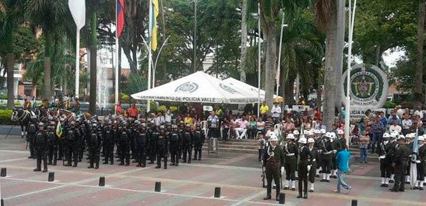 Alcaldía de Cartago otorga distinción a la Policía Nacional en sus 125 años