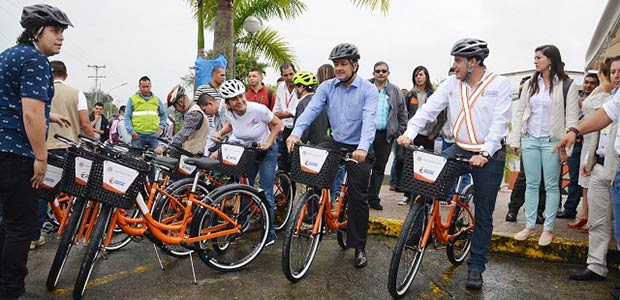 Bicicletas públicas en Armenia con sentido social