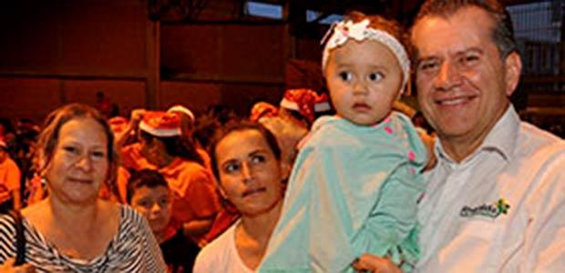 Ruta de la navidad llegó a Pereira y Dosquebradas