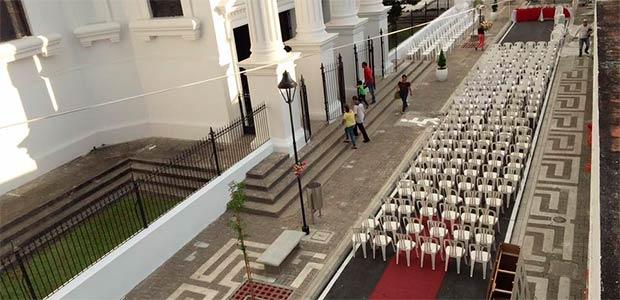Se inauguró la apertura vehicular de la calle 14 de Cartago