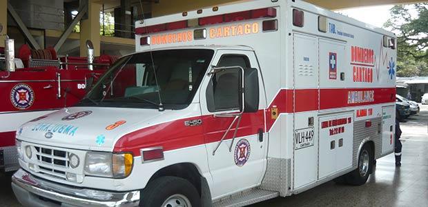 Centro regulador de ambulancias, otro logro en el primer año de gobierno de Cartago