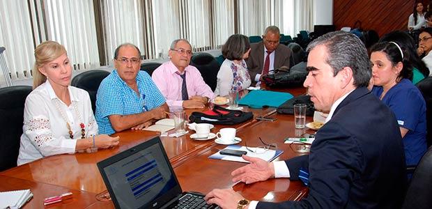 Junta directiva analizó situación del HUV tras reintegro de trabajadores de cara a la ley 550