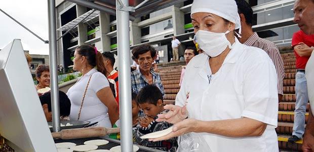Fortalecimiento de la cadena productiva de la arepa en Armenia