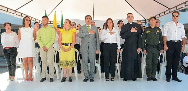 Tebaidenses dieron calurosa bienvenida al Gobernador y a su equipo para la semana de trabajo