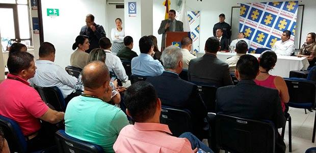 Gobernador del Quindío entregó al CTI sala de análisis para hacerle frente a estructuras criminales