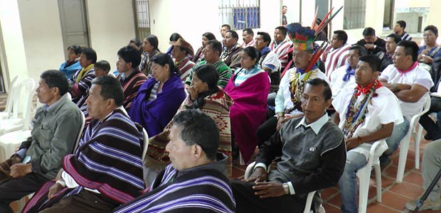 Mesa de concertación entre gobierno del Valle y comunidades indígenas para inversión del 2017