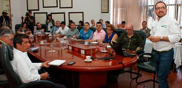 Avanza convenio entre Gobernación del Quindío y Unidad de planificación rural agropecuaria
